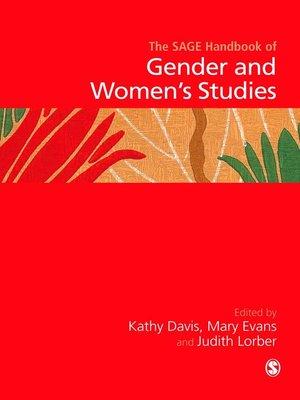 cover image of Handbook of Gender and Women′s Studies