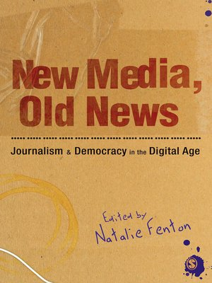 cover image of New Media, Old News