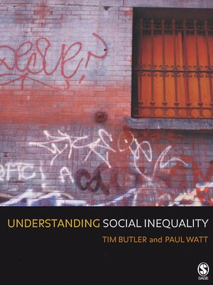 cover image of Understanding Social Inequality