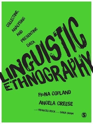 cover image of Linguistic Ethnography