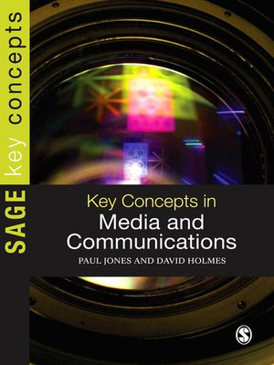 cover image of Key Concepts in Media and Communications