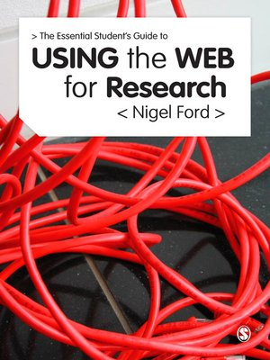 cover image of The Essential Guide to Using the Web for Research