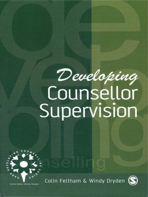 cover image of Developing Counsellor Supervision