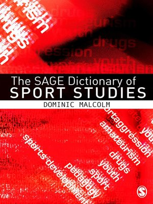 cover image of The SAGE Dictionary of Sports Studies