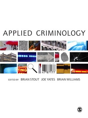 cover image of Applied Criminology