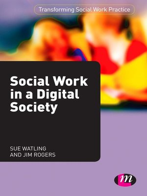 cover image of Social Work in a Digital Society