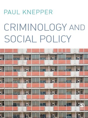 cover image of Criminology and Social Policy