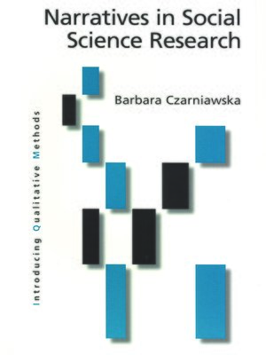 cover image of Narratives in Social Science Research
