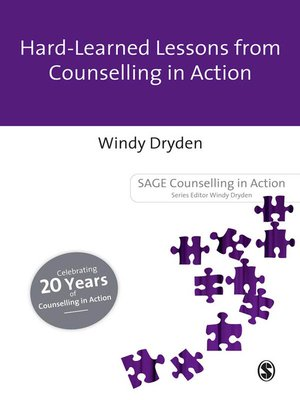 cover image of Hard-Earned Lessons from Counselling in Action