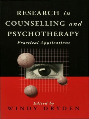 cover image of Research in Counselling and Psychotherapy