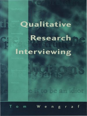 cover image of Qualitative Research Interviewing
