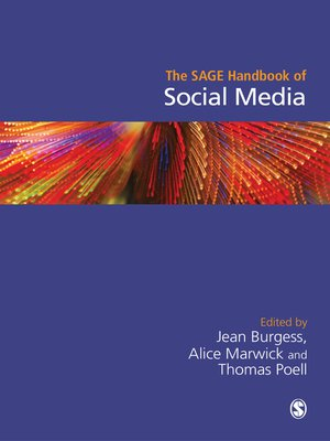 cover image of The SAGE Handbook of Social Media