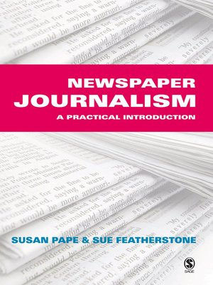cover image of Newspaper Journalism
