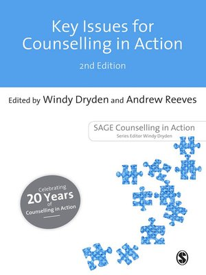 cover image of Key Issues for Counselling in Action