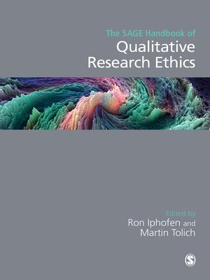 cover image of The SAGE Handbook of Qualitative Research Ethics