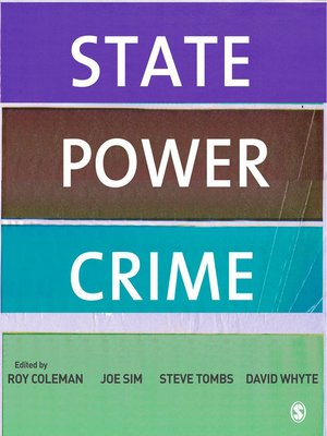 cover image of State, Power, Crime