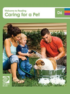 cover image of Caring for a Pet