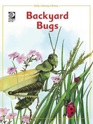 cover image of Backyard Bugs