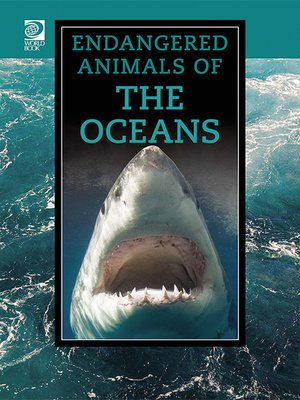 cover image of Endangered Animals of the Oceans