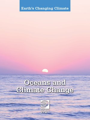 cover image of Oceans and Climate Change