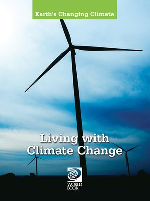 cover image of Living with Climate Change