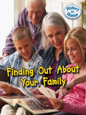cover image of Finding Out About Your Family History