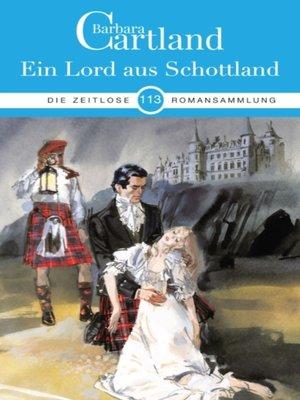 cover image of Ein Lord aus Schottland