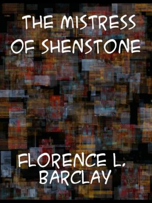 cover image of Mistress of Shenstone