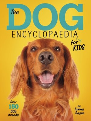 cover image of Dog Encyclopaedia for Kids