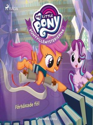 cover image of Ponyvillemysterierna 5--Förhäxade föl