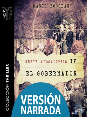 cover image of Apocalipsis--IV--El gobernador--NARRADO