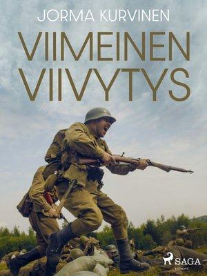 cover image of Viimeinen viivytys