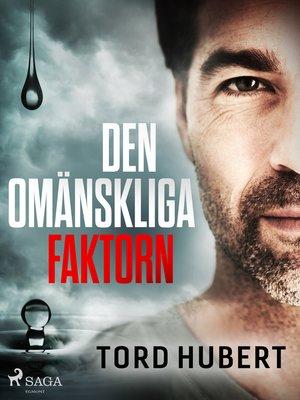 cover image of Den omänskliga faktorn