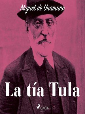 cover image of La tía Tula