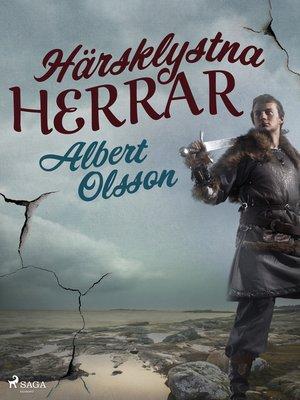 cover image of Härsklystna herrar