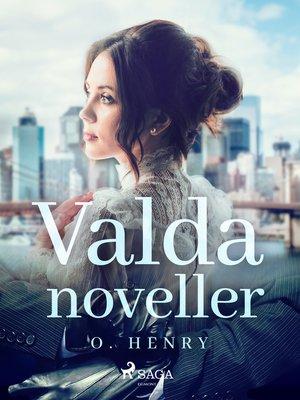 cover image of Valda noveller