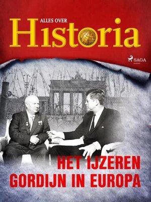 cover image of Het IJzeren Gordijn in Europa