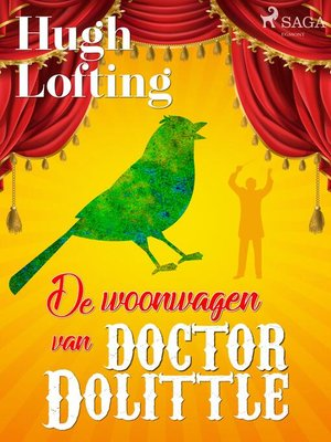 cover image of De Woonwagen van Doctor Dolittle