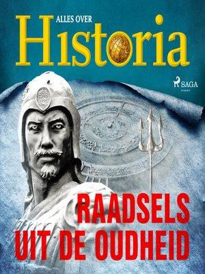 cover image of Raadsels uit de oudheid