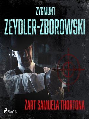 cover image of Żart Samuela Thortona