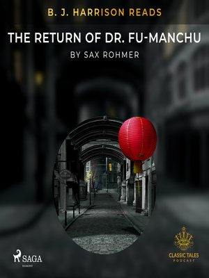cover image of B. J. Harrison Reads the Return of Dr. Fu-Manchu