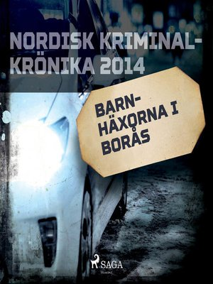 cover image of Barnhäxorna i Borås