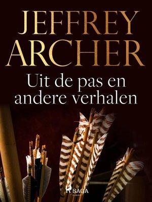 cover image of Uit de pas en andere verhalen