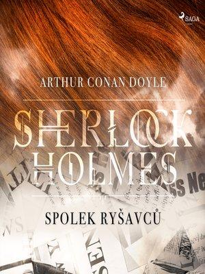 cover image of Spolek ryšavců