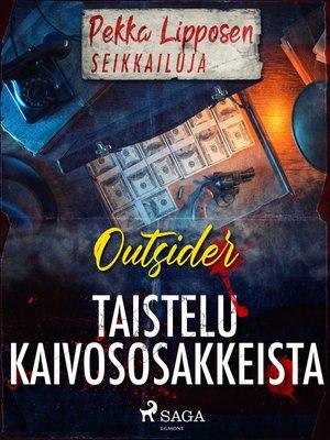 cover image of Taistelu kaivososakkeista