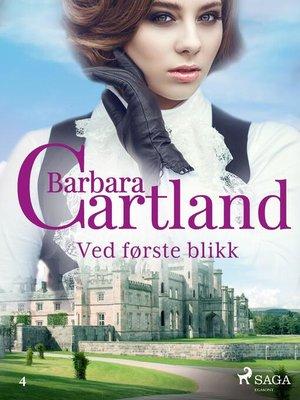cover image of Ved første blikk