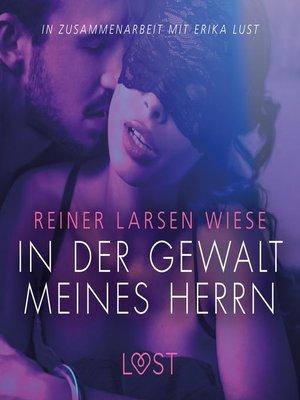 cover image of In der Gewalt meines Herrn