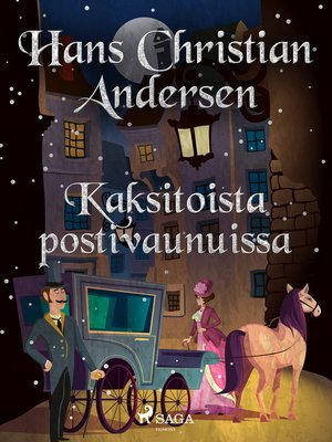 cover image of Kaksitoista postivaunuissa