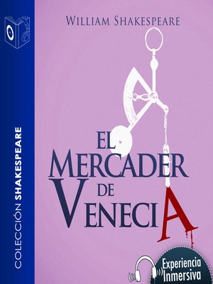 cover image of El mercader de Venecia--Dramatizado