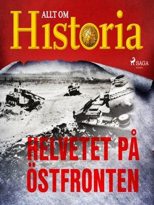 cover image of Helvetet på östfronten